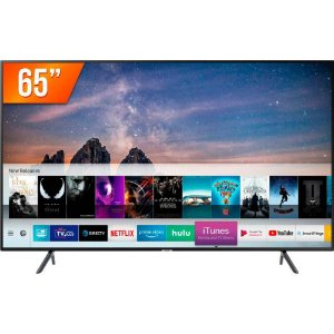 Smart Tv 65'' 4K Samsung UHD 3 Hdmi 2 USB Wi-Fi - UN65RU7100