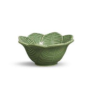 Conjunto de Bowls com 6 Peças em Cerâmica Leaves Salvia