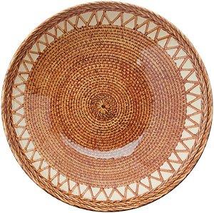 Conjunto de Pratos Fundos com 06 Peças em Cerâmica Coup Pineapple