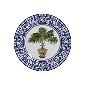 Conjunto de Pratos de Sobremesa com 06 Peças em Cerâmica Imperial