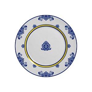 Conjunto de Pratos de Sobremesa com 06 Peças em Cerâmica Palazo