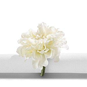 Porta Guardanapo Primavera Cravo Branco