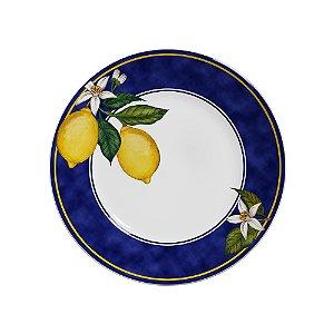 Conjunto de Pratos Rasos com 06 Peças em Cerâmica Sicilia