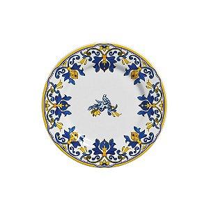 Conjunto de Pratos de Pao com 06 Peças em Cerâmica Limone