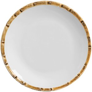 Sousplat em Ceramica Bambu 34cm