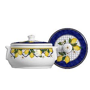 Sopeira Grande Em Ceramica Sicilia