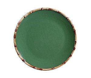 Prato Raso Bambu Verde - Un