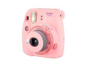 Câmera Instantânea Instax Mini 9 - Rosa Claro