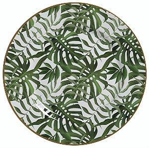 Conjunto de Pratos Rasos com 06 Peças em Cerâmica Amazonia
