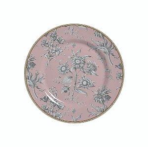 Conjunto de Pratos de Sobremesa com 06 Peças em Cerâmica Giardino