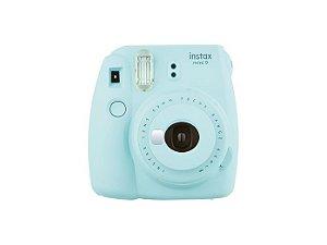 Câmera Instantânea Instax Mini 9 - Azul Aqua