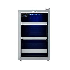 Cervejeira Venax Blue Light 100, 82L, -6°C a 0°C 110V - Cinza