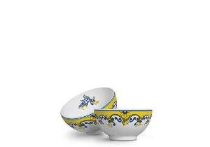 Conjunto de Bowls com 06 Peças em Cerâmica Limone - 480ml