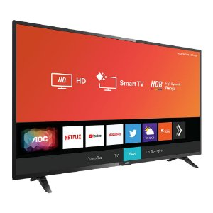 "Smart TV 32"" AOC HD, LED, Wi-Fi Integrado, USB, HDMI, HDR - 32S5295"