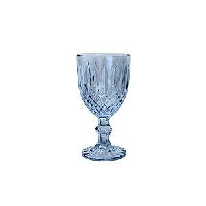 Conj. 6 Taças P/ Água De Vidro Greek Azul - 345ml