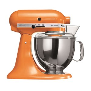 Batedeira Stand Mixer Artisan - Tangerine - 110V