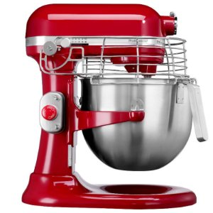 Batedeira Stand Mixer Profissional 7,6L - Empire Red - 220V