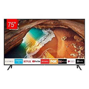 """Smart TV QLED Samsung 75"""" 4K UHD, HDR 500, Modo Ambiente, HDMI, USB - 75Q60R"""