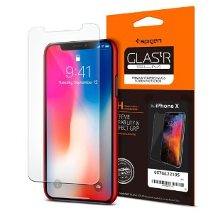 PELICULA PARA IPHONE X SCREEN PROTECTOR GLAS.tR SLIM HD SPIGEN