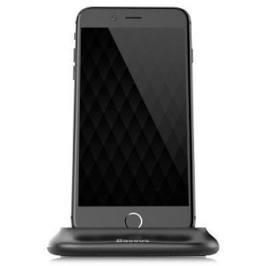 Base Carregadora de Mesa Baseus Little Volcano para iPhone (Lightning)