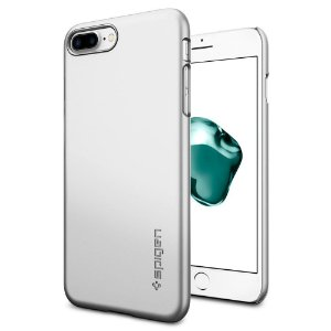 CAPA PARA IPHONE 7/8 PLUS THIN FIT SATIN SILVER SPIGEN