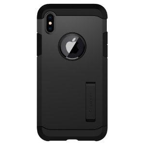 CAPA PARA IPHONE X TOUGH ARMOR SPIGEN BLACK
