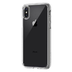 CAPA PARA IPHONE X ULTRA HYBRID SPIGEN CRYSTAL CLEAR