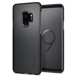 CAPA PARA SAMSUNG GALAXY S9 THIN FIT SPIGEN GRAPHITE GRAY