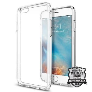 CAPA IPHONE 6/6S SPIGEN ULTRA HYBRID CLEAR CRYSTAL