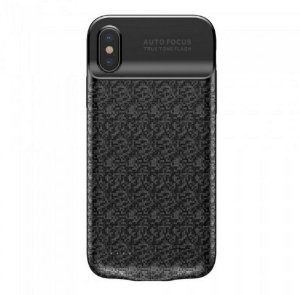 CAPA CARREGADORA PARA IPHONE X 10 PLAID 3500MAH BASEUS PRETO
