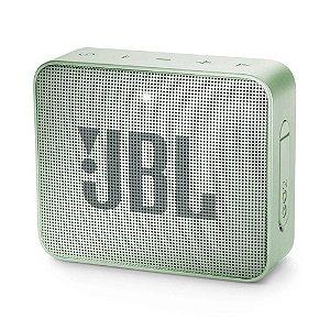 Caixa De Som Portátil Jbl Box Go 2 - 3w Rms - Verde