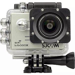 Câmera Filmadora De Ação Sjcam Sj5000x Elite 4k Prata