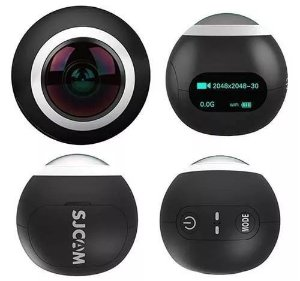 Câmera Esporte 360° Sjcam Sj360 2k Com Wifi Produto Original