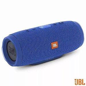Caixa Acústica Bluetooth Jbl À Prova D Água Azul - Charge 3