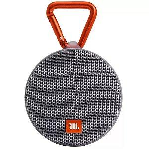 Caixa De Som Portátil Jbl Clip 2 Cinza Bluetooth Cinza