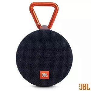 Jbl Clip 2 Bluetooth Preta 3w Rms Novo Original Lacrado