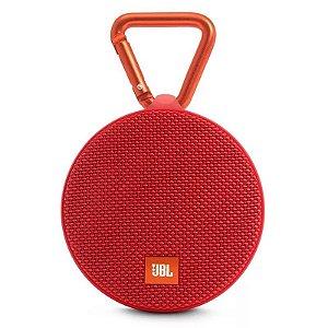 Caixa De Som Jbl Clip2 Bluetooth Vermelha Original