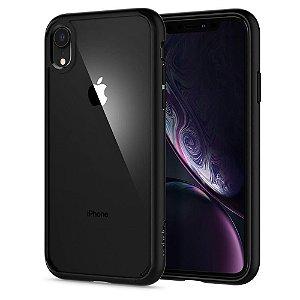 Capa Case Iphone Xr Spigen Ultra Hybrid 100% Original Preto