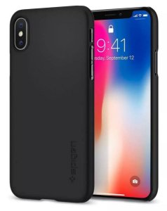 Capa Iphone Xs Max Original Spigen Premium Thin Fit Fina