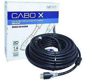 Cabo X HDMI Exbom 15 Metros