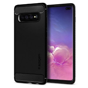 Capa Galaxy S10 Plus Spigen Rugged Armor