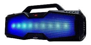 Caixa De Som Amplificada 30w Microfone Pendrive Fm Sd Top
