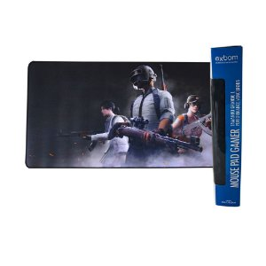 Mouse Pad Gamer PUGB  Extra Grande 70x35 Cm Mouse Teclado Pc