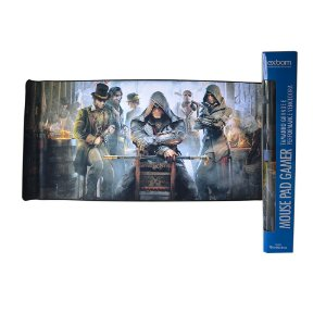 Mouse Pad Gamer ASSASSINS Extra Grande 90x40 Cm Mouse Teclado Pc