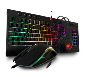 Kit Gamer Havit Gamenote - Teclado Mouse Headphone