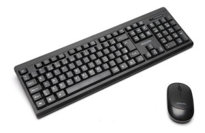Kit Teclado E Mouse Wireless 2.4 Convenience Philips Spk6324