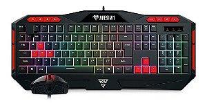 Combo Gamer Gamdias Teclado e Mouse Ares M1 + Zeus E2