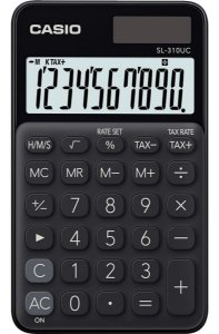 Calculadora de Bolso Casio SI310uc Visor Grande 10 Dígitos