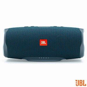 Caixa de Som Bluetooth JBL à Prova d'Água com Potência de 30 W Azul
