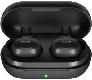 Fone Qcy T4 Bluetooth 5.0 Tws, Modo Game, Hifi Stereo Aac 6mm, Customização via App